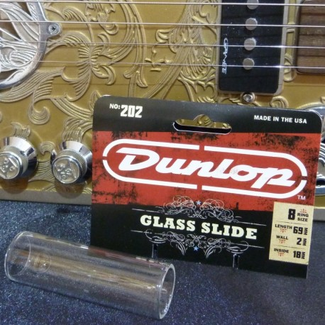 Dunlop 202 glass Guitar Slide