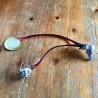 Pre-wired Piezo Pickup 35mm jack volume