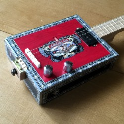 StLouis Cigar box Guitar American 4 Strings