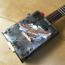 Oil Can Guitar 5 string Harley-Davidson