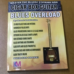 Master the blues Cigar Box Guitar 3 string