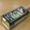 Oil Can Guitar 5 string olive oil