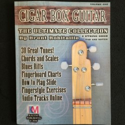 4 string cigar box guitar tabs and note