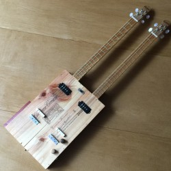 Wine Box guitar double neck