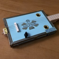 Cigarbox Guitar pickup piezo 4 Strings Don Miguel