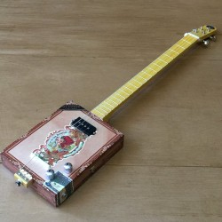 StLouis Cigarbox Guitar Flor De Las Antillas 4 Strings