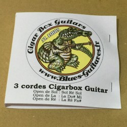 String Guitar and cigar box guitar