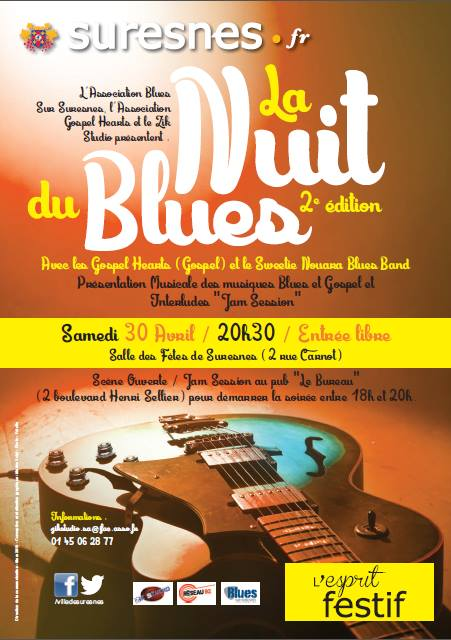St Louis Guitars et Blues Guitars France