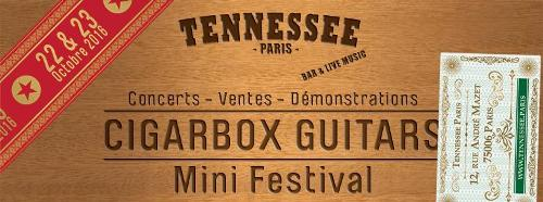 Expositions Cigarbox Guitar St Louis et concerts