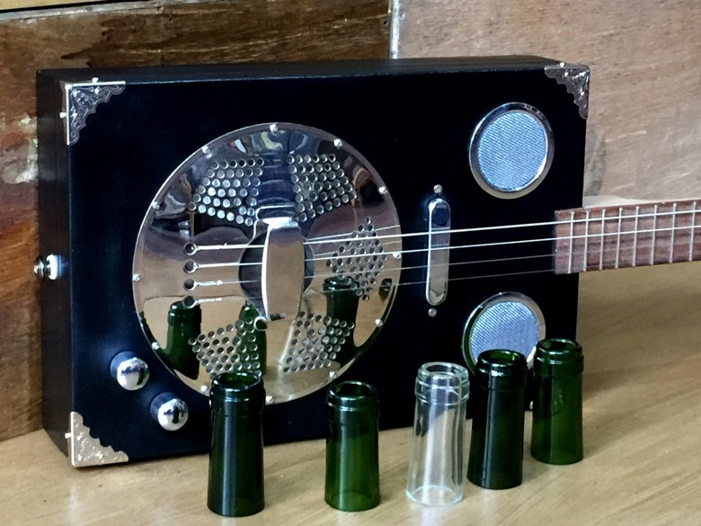 Bottlenecks handmade by Joel Poupeau Blues Guitars France